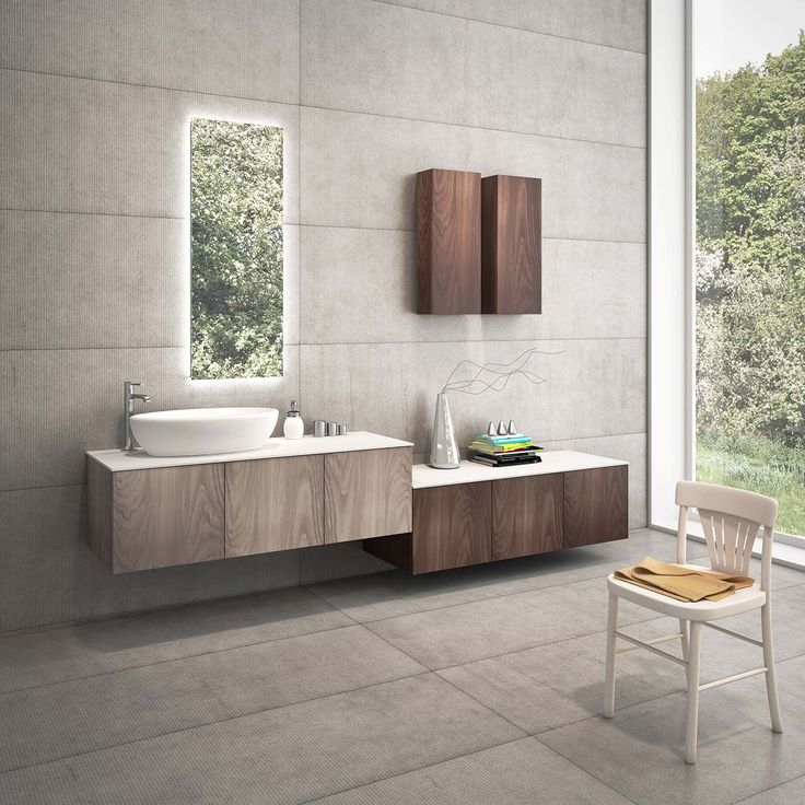 Bathroom furniture_Ysomite surface by Cleaf