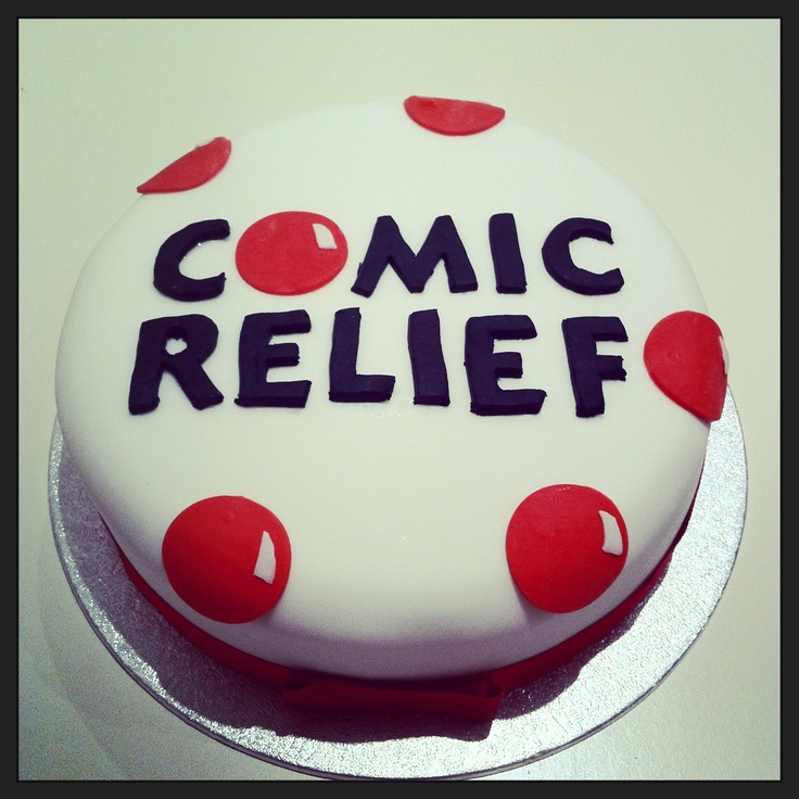 Comic relief cake.. Do something funny for money