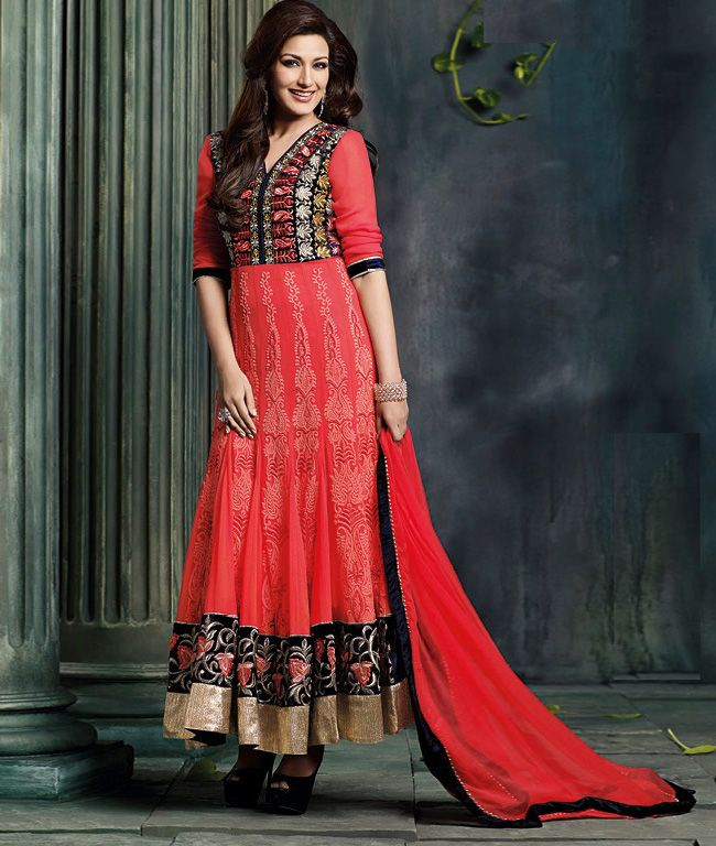 Get Up To 70 + 15% OFF on this #KarvaChauth & #Diwali Please refer to the website link with the image for price or to place an order http://www.shoppers99.com/all_sales/sonali_bendre_designer_anarkali_suit_collection