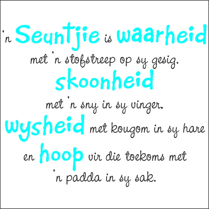 Afrikaans Wall Stickers - Page 3 of 3 - Vinyl Art SA