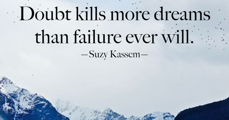 Great quote about failure.