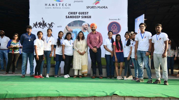 Hamstech S Sportsmania2019 Was A Great Event With Sandeep Singh Who Graced The Occasion Read The Blog To Find Out What His Thoughts About The Even Sport Event