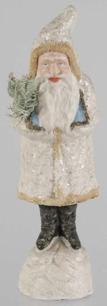 Belsnickel Santa Candy Container, 13 inches, sold for $ 2,160 Morphy Auctions