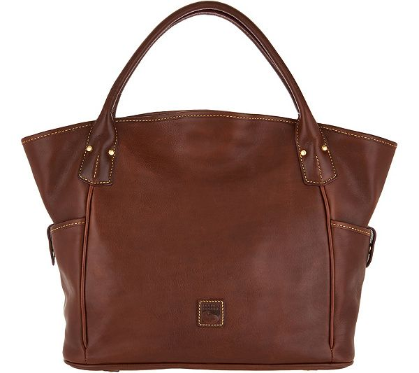 38ce13fcd20 Dooney   Bourke Florentine Leather Kristen Tote - Page 1 — QVC.com