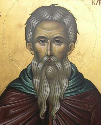 St KYRIACOS the Anchorite (or Hermit) (d. 557)