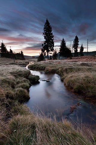 Safírový potok, Jizerské hory, Czech Republic