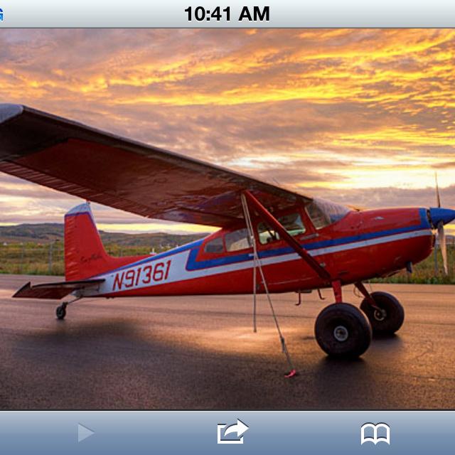 Cessna 180...tundra tiresperfect Flying Aviation