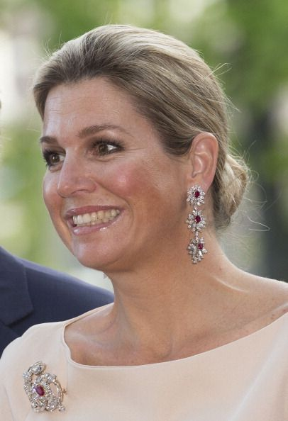 Queen Maxima of The Netherlands attend the opening of Holland Festival  on June 1, 2014 in Amsterdam, Netherlands.