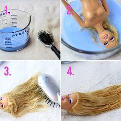 Démêler les cheveux de poupée en un rien de temps! - Trucs et Astuces - Des trucs et des astuces pour améliorer votre vie de tous les jours - Trucs et Bricolages - Fallait y penser !