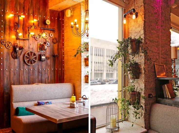 Как сделать бюджетный ремонт в стиле лофт на примере ресторана – Идем в гости