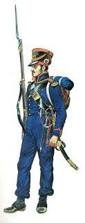 Marinaio  del reggimento di marina della Guardia Imperiale 1808