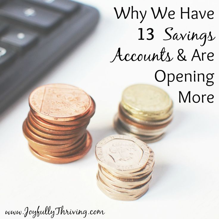 Yes, we have 13 savings accounts and are still opening more. It works for our family, and this is the how and why of it.