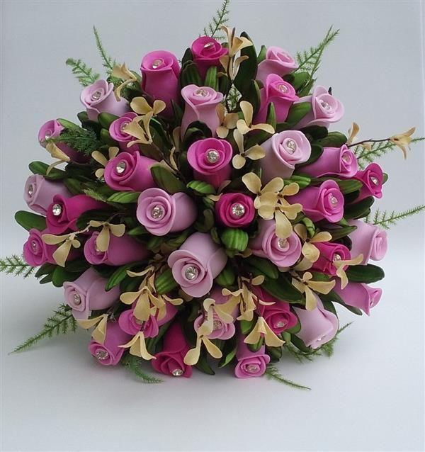 Flores De Eva Passo A Passo Flores Flores Em Eva E Arranjos De
