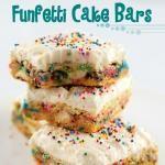 Cake Batter Bars