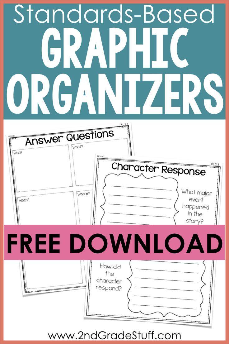 Common Core Standards Graphic Organizers Free Sample Common Core Standards Graphic Organizers 2nd Grade Ela