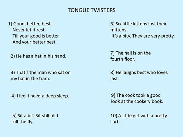 22 Funny Tongue Twisters for Kids (And Why Tongue Twisters Are Terrific for Language Development)