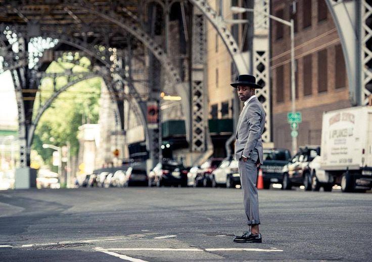 Hugo Boss   New York Street style