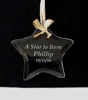 19 best personalized glass ornaments christmas more images on personalized glass ornaments custom engraved star ornament negle Image collections