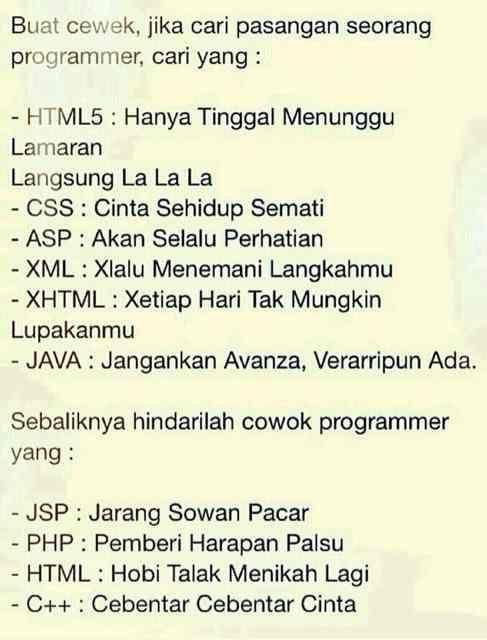 #Ngehe #Programmer #Jleb