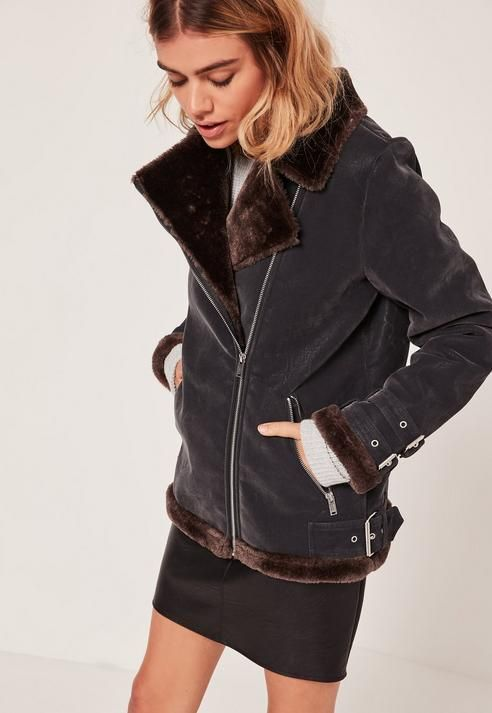 Purchase this before it goes  And Brown Faux Fur Lined Aviator Jacket - http://www.fashionshop.net.au/shop/missguided/and-brown-faux-fur-lined-aviator-jacket/ #And, #Brown, #Faux, #Fur, #Jacket, #Lined, #Missguided, #WomensCoatsOther #fashion #fashionshop