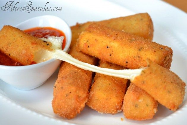 Homemade Mozzarella Sticks. This easy mozzarella stick recipe is a winner!