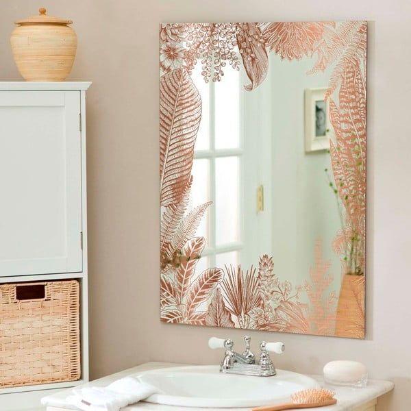Nastenne Zrcadlo Surdic Espejo Kentia Copper 50 X 70 Cm Bonami In 2020 Framed Bathroom Mirror Bathroom Mirror Mirror