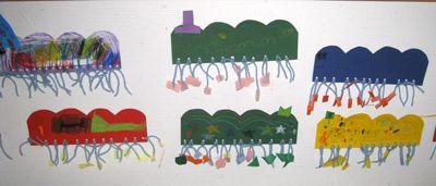 Toukan jalat ovat ryijysolmuilla kiinnitettyjä lankoja. www.kolumbus.fi/mm.salo