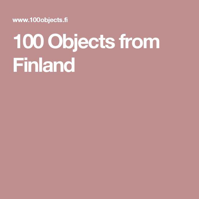 100 Objects from Finland   Minä vuonna olet syntynyt? Näyttely kertoo Suomen tarinan esittelemällä yhden esineen jokaiselta itsenäisyyden vuodelta.