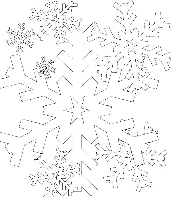 The 25+ best Snowflake coloring pages ideas on Pinterest