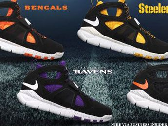 Wear your team colors… on your feet. Nike Special-Edition Sneakers For All NFL Teams. See The Slideshow>>