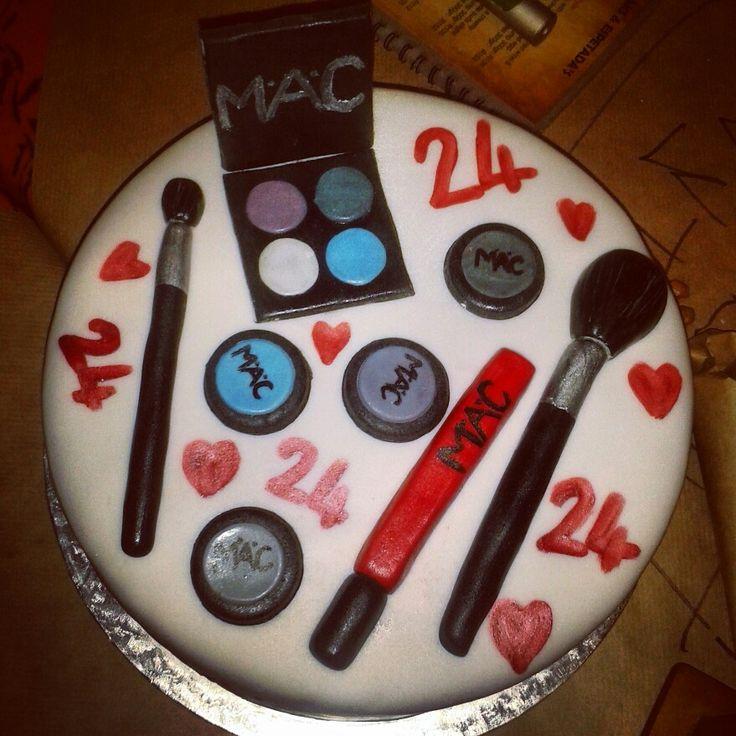 MAC make up cake by ButterCupCakes