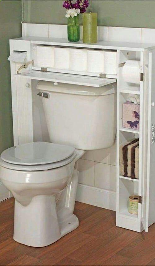 30 beste und intelligenteste diy kleine badezimmer storage hacks badewanne pinterest - Diy badezimmer ...