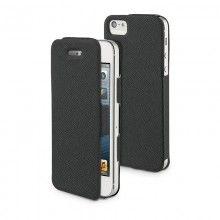 Forro iPhone 5 Muvit - iFlip Folio Negra con Protector Pantalla  Bs.F. 134,48