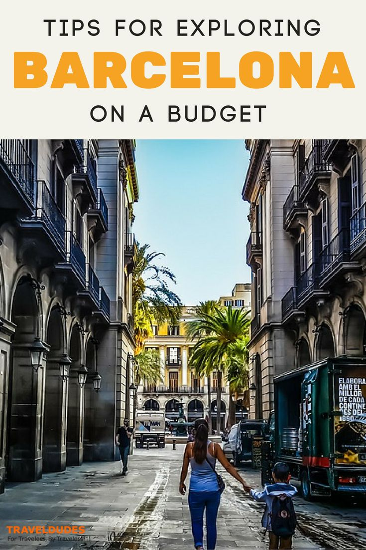A guide to exploring Barcelona, Spain on a budget. Best free things to do in one of Europe's most popular cities. Practical tips for your trip to Spain. | Blog by Travel Dudes: Community for Travelers, by Travelers!