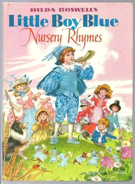 HILDA BOSWELL'S LITTLE BOY BLUE NURSERY RHYMES HB