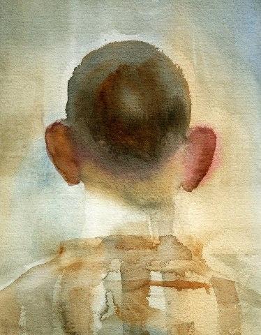 back autoportrait by Gipi