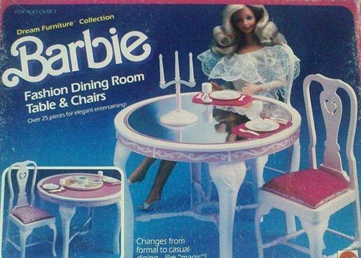 Barbie Zubehör, 90er Kindheit, Die 80er, Barbie Möbel, Traummöbel, Barbie  Dream, Kindheitserinnerungen, 90er Spielzeug, Nostalgie Der 90er