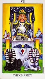 Find out what songs describe the tarot card meanings in the Chariot tarot card
