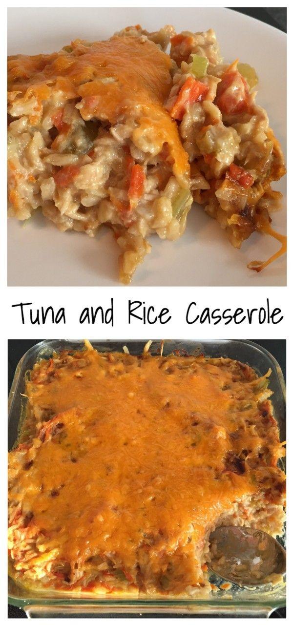 Tuna and Rice casserole Final