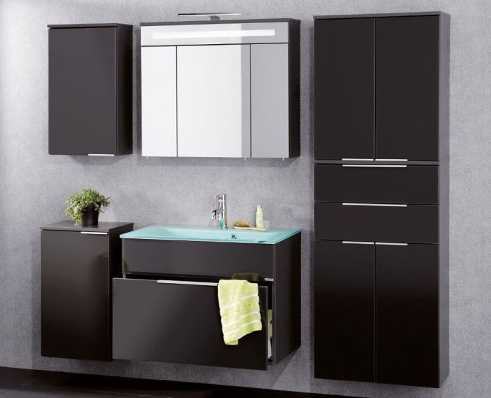 Bathroom Vanity, ACF PH53, 39 Inch Wall Mount Glossy