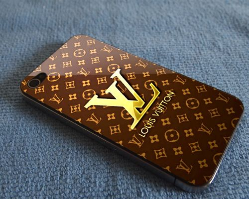 """Louis Vuitton Gold Print on Hard Plastic For iPhone 5 Case, Black Case  This case is available for: iPhone 4/4S iPhone 5/5S iPhone 6 4.7"""" screen Samsung Galaxy S4 Samsung Galaxy S5 iPod 4 iPod 5  Plea"""