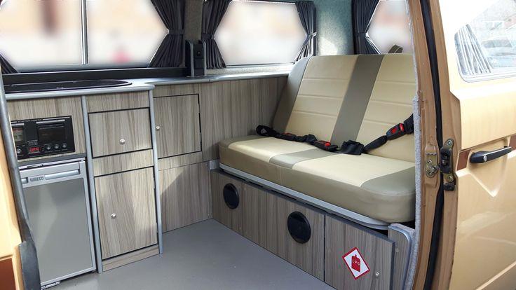 T25/T3 Interior T4 T5 Campervan http://www.cloverfieldcampervans.co.uk/