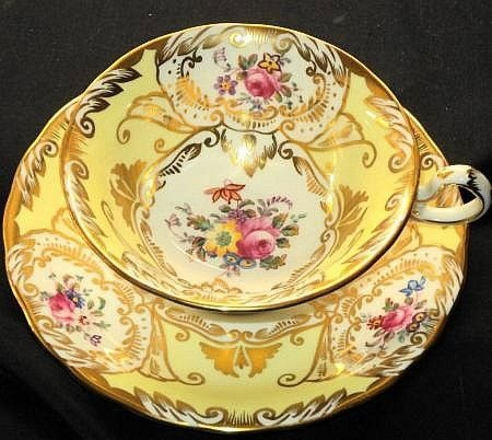 Royal Chelsea Emperor Elite  Tea cup and saucer Teacup