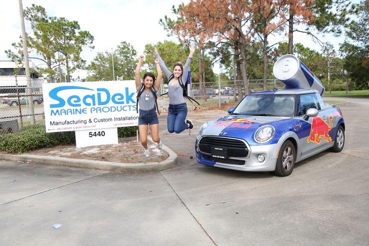 SeaDek Gets a Surprise Visit from Red Bull! | SeaDek Marine Products Blog
