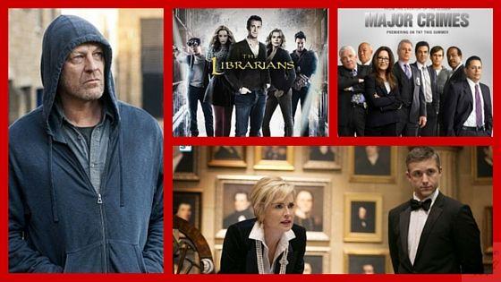 Novembre mese di TNT: annunciate le date di Agent X con Sharon Stone, Legends 2 con Sean Bean, Major Crimes 4b e The Librarians 2