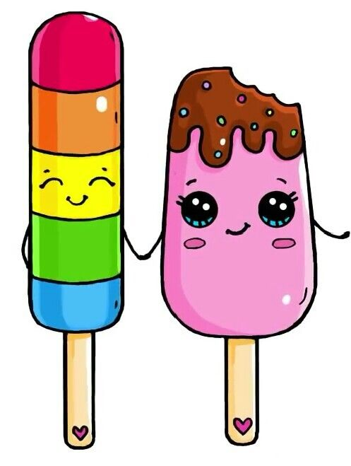Dessin glace cute