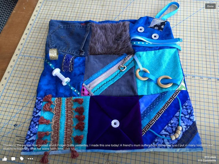 IDEAS for FIDGET QUILTS