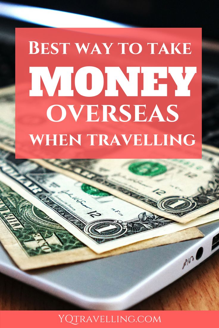 Best ways to take money overseas. Cash, credit card and ATM card. Find out how these methods help you keep your money safe when travelling overseas.