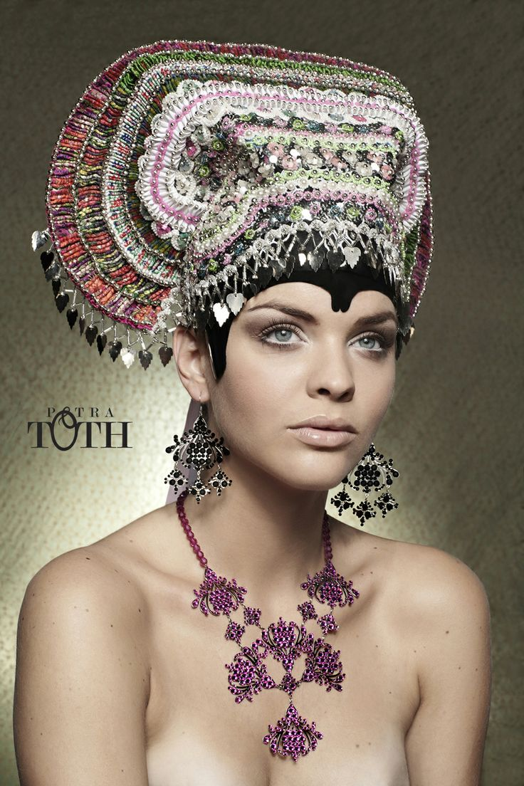 Petra Toth Jewellery inspired by Slavik Folklore. www.petratoth.sk