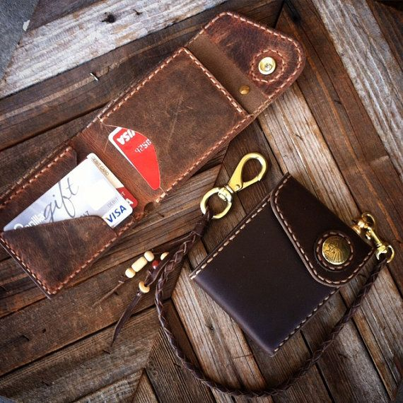 The Rambler Bifold Billfold Horween Leather от CultClassicLeather